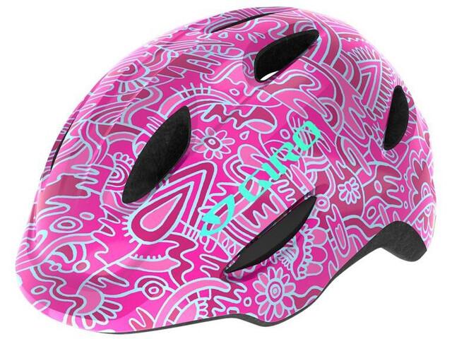 Giro Scamp MIPS Helmet Barn pink flower land